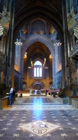 ลิเวอร์พูล, UK: Liverpool Cathedral