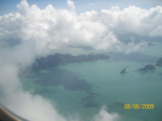 เกาะพีพีเล: sky view of phuket