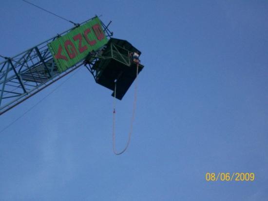 เกาะพีพีดอน, ไทย: bungee jumping 600fts