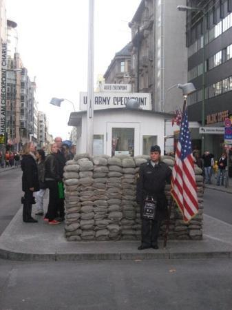 Checkpoint Charlie - Berlin - October 2008