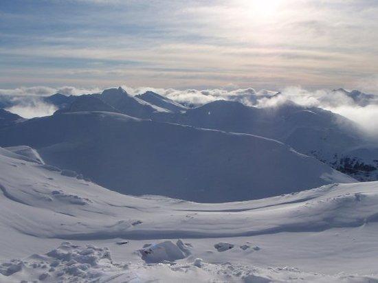 Cerro Castor (Castor Mount): Looking down south for Antartica