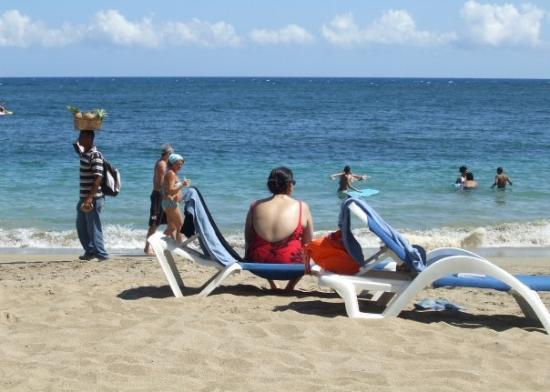 ไลฟ์สไตล์ ทรอปิคอลบีช รีสอร์ท & สปา: Looking north, to the Carribean Sea