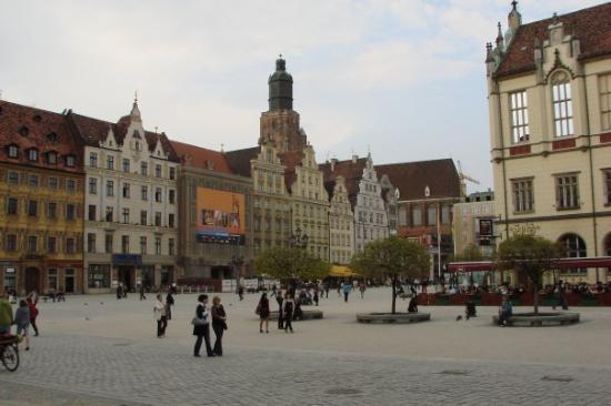 มาร์เก็ตสแควร์: Rynek we Wrocławiu