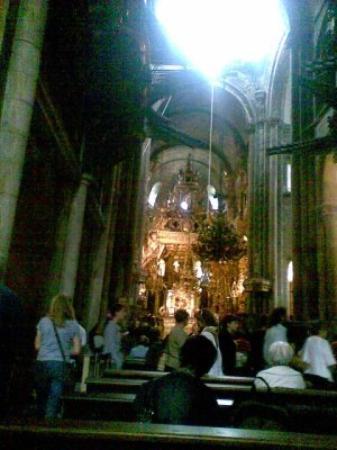 Santiago de Compostela (เมืองซานเตียโก เด กอมปอสเตลา), สเปน: Santiago de campostela