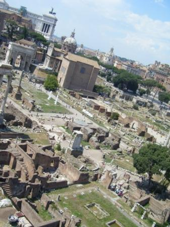 Palatine Hill: Le Forum Romain