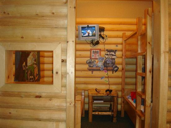Great Wolf Lodge: the kids cabin