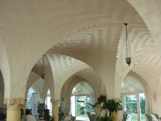 Africa Jade Thalasso: Traditional roof building method only in the part of Tunisia which the locals refer to as the ha