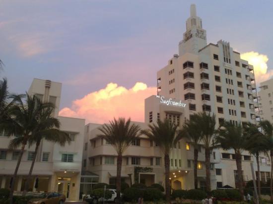 ไมอามี่ีบีช, ฟลอริด้า: Miami Vice fiilis - kerrankin kaunis sää;), jess!