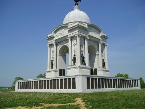 เก็ตตีสบูร์ก, เพนซิลเวเนีย: Pennsylvania Monument