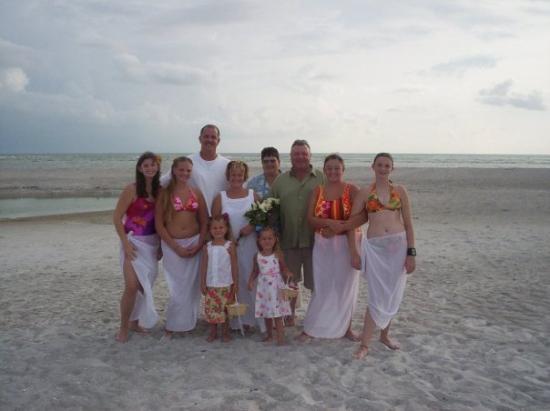 เซียสตาคีย์, ฟลอริด้า: Lido Beach by Siesta Key.  We got married here!