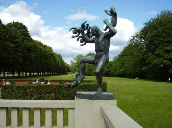 ออสโล, นอร์เวย์: Sculptur park