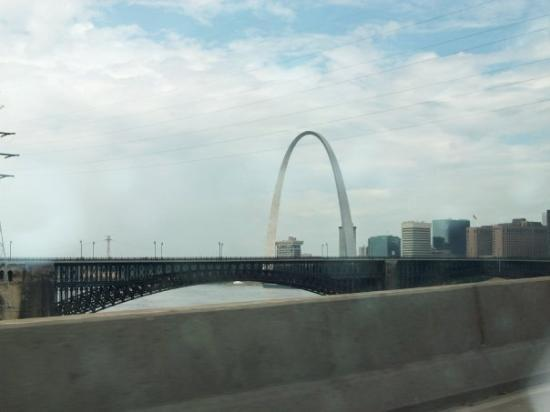 Saint Louis, มิสซูรี่: Had to go through STL to get there