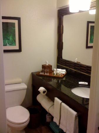Courtyard by Marriott King Kamehameha's Kona Beach Hotel: King Kam vanity