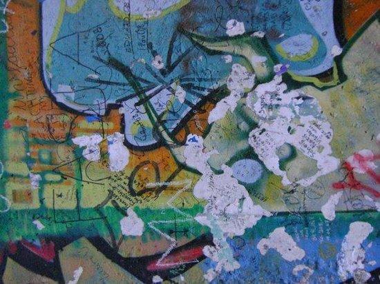 อนุสรณ์สถานกำแพงเบอร์ลิน: The Wall... propiamente...