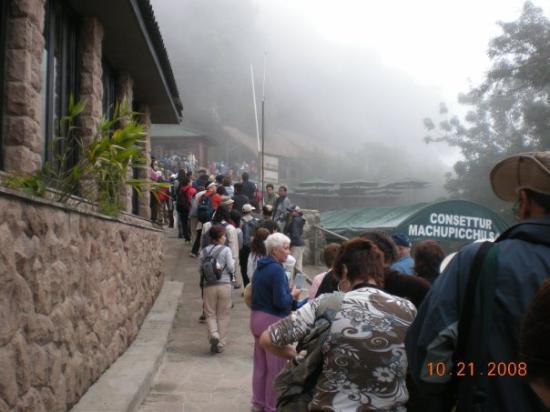 มาชูปิกชู, เปรู: Entrada a Machu Pichu