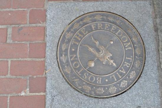 บอสตัน, แมสซาชูเซตส์: Boston...The Freedom Trail.