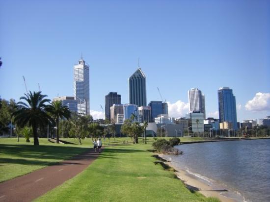เพิร์ท, ออสเตรเลีย: Perths skyline