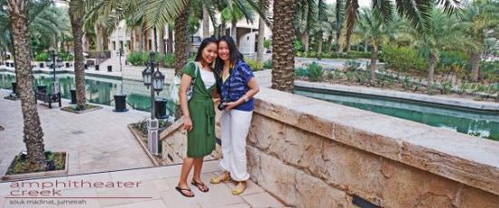 สวนและหาดจูเมร่า: with my shobe eliyana