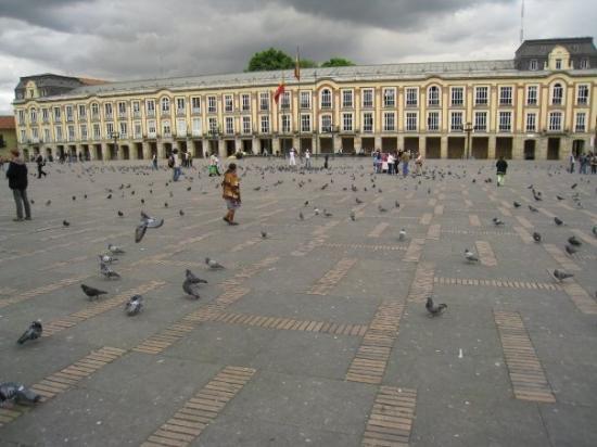Plaza de Bolivar ภาพถ่าย