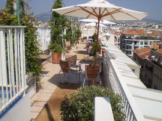 Splendid Hotel & Spa: terrasse