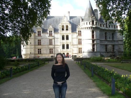 Bienvenu au chateau d\'Azay le rideau - Bild von Azay-le-Rideau ...