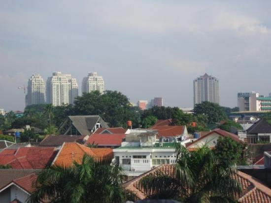 Jakarta vue de ma chambre picture of jakarta java for Chambre de parade
