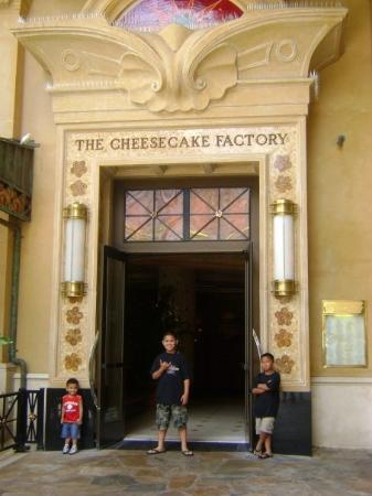 The CheeseCake Factory on the main strip....