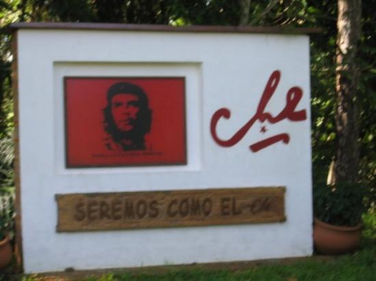 Iguazu National Park, อาร์เจนตินา: EL HOGAR DEL CHE!! CASA DONDE NACIÓ.