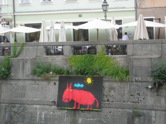 ลูบลิยานา, สโลวีเนีย: Ljubljana, the capital of Slovenia