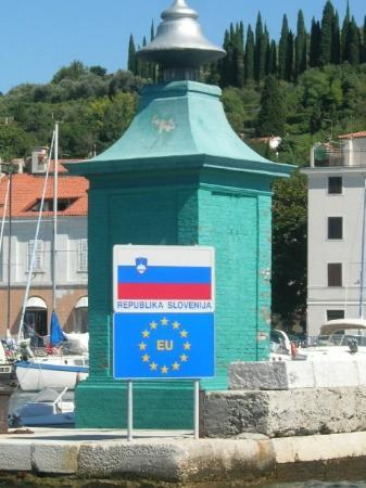 Piran, สโลวีเนีย: Welcome to the republic of Slovenia!