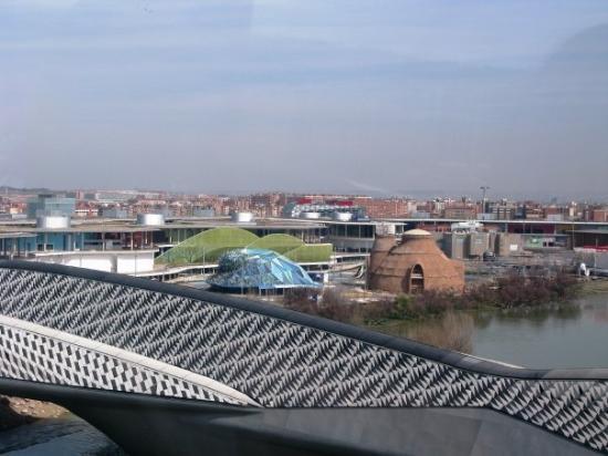 El Ebro: La expo desde arriba