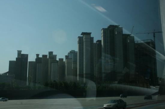 โซล, เกาหลีใต้: Seoul skyline