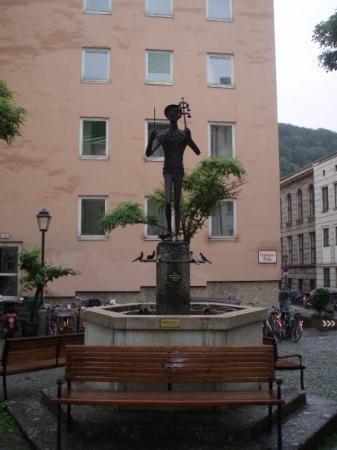ซาลซ์บูร์ก, ออสเตรีย: Salzburg, Österreich Papagenobrunnen Pfeifergasse
