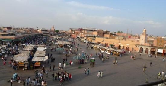 เจมาอา เอล ฟนา: Djemaa el-Fna, Marrakech
