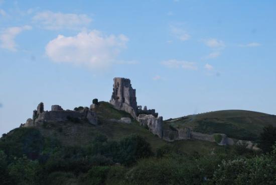 Corfe Castle ภาพถ่าย