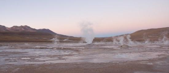 San Pedro de Atacama, ชิลี: Geiser del Tatio