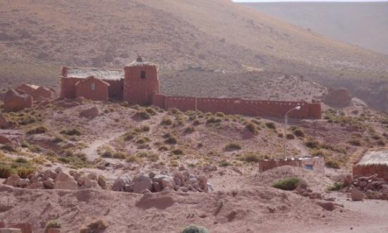 San Pedro de Atacama, ชิลี: Iglesia de Machuca