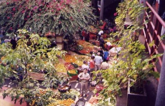 ฟุงชาล, โปรตุเกส: Mercado de las Flores en FUNCHAL