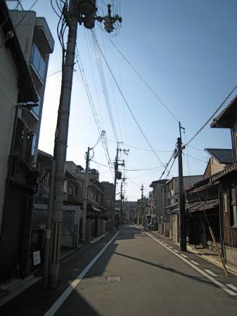 เกียวโต, ญี่ปุ่น: street of old kyoto