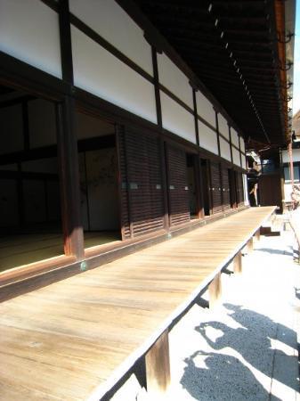 เกียวโต, ญี่ปุ่น: waiting rooms. different rooms for different ranking & status.