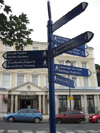 Llandudno Street signs