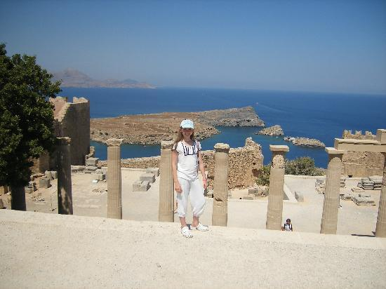 Atlantica Aegean Blue: Top of the Acropolis, Lindos