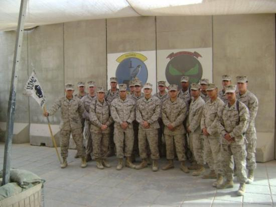 Ramadi, อิรัก: MACS-1 HQ DET at Al Asad