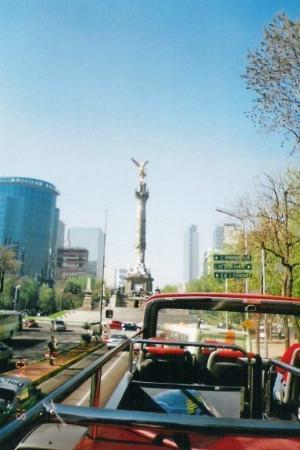 เม็กซิโกซิตี, เม็กซิโก: Torre del Angel (Angel Tower) in the Center of Mexico City