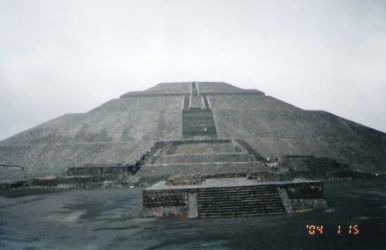 เม็กซิโกซิตี, เม็กซิโก: Piramide del sol y la luna (Sun & Moon Pyramid) - Mexico