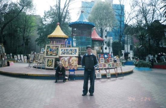 เม็กซิโกซิตี, เม็กซิโก: Street Art Vendors - Mexico City