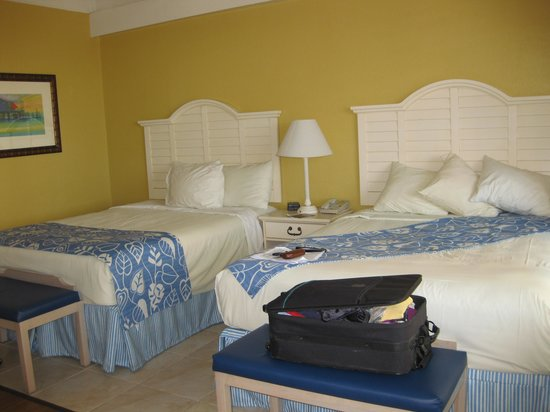 Best Western Plus Yacht Harbor Inn: Two queen beds