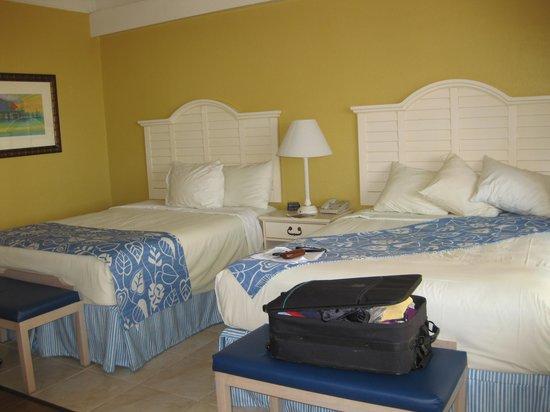 Best Western Plus Yacht Harbor Inn: Two queen beds