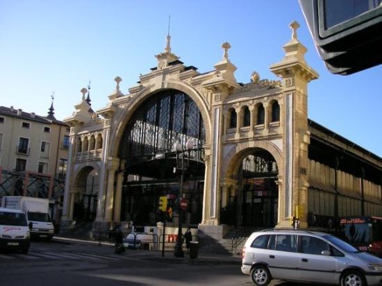 ซาราโกซา, สเปน: un marché à zarragos