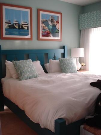 คีย์เวสต์, ฟลอริด้า: Our master bedroom in the condo.